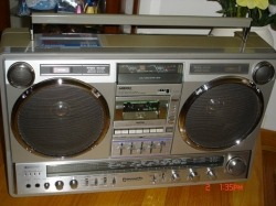 Panny RX A2 (With custom made speaker brackets). - last post by BoomboxLover48